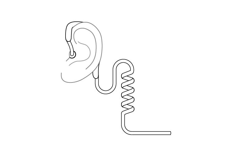 EarHugger™ Frame Diagram